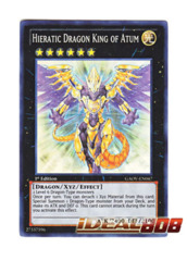 Hieratic Dragon King of Atum - GAOV-EN047 - Super Rare - 1st Edition