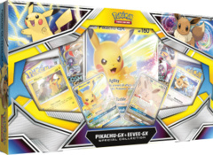 Pokemon Pikachu GX/ Eevee GX Special Collection