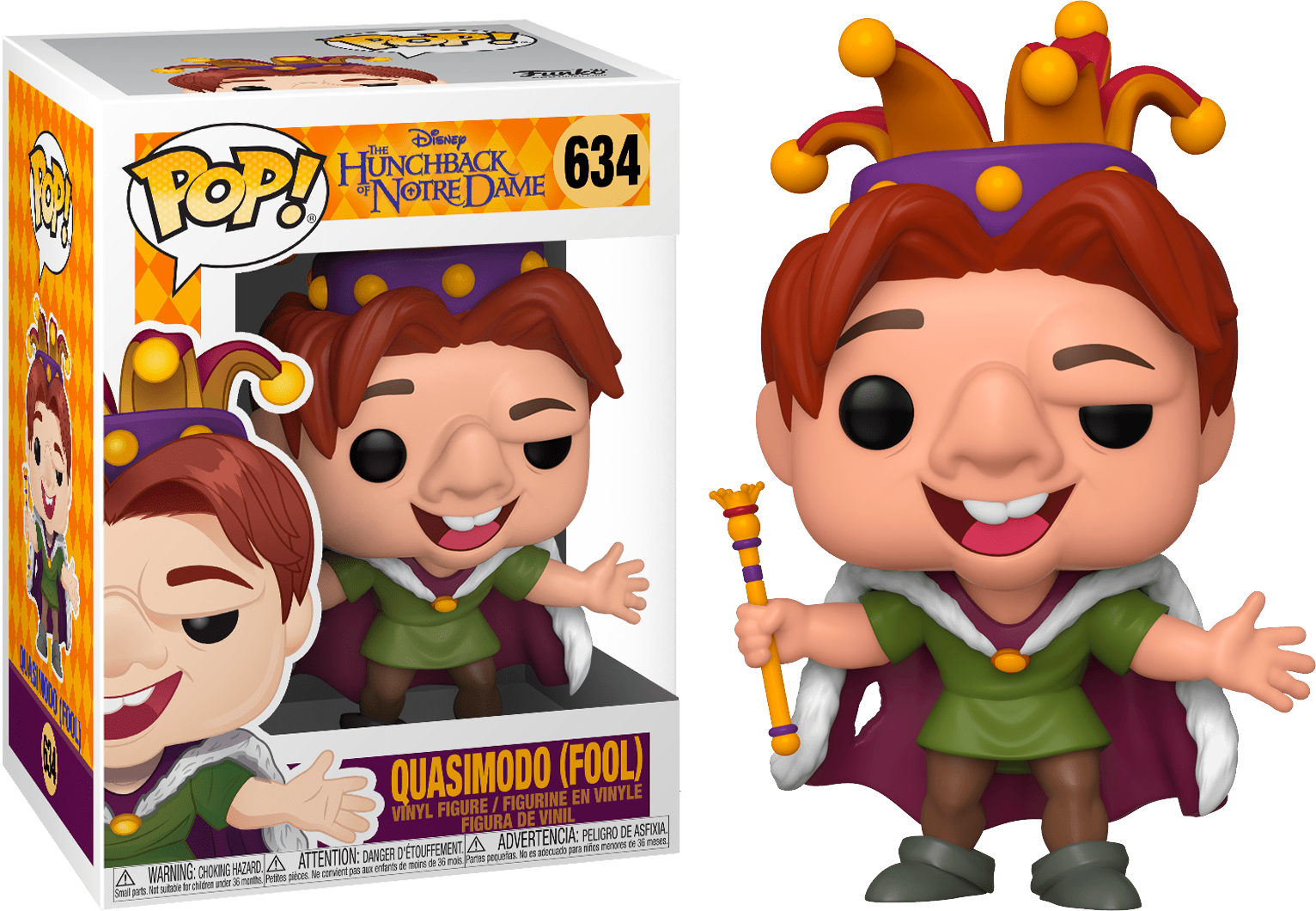 The Hunchback Of Notre Dame Quasimodo Fool 634 Toys Collectibles Funko Isd Gaming