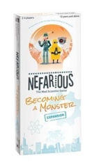 Nefarious Becoming a Monster Expansion