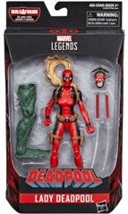 Marvel Legends: Lady Deadpool