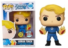 Fantastic Four Human Torch (Specialty Series Glow in the Dark) #568