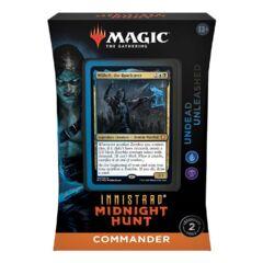 Innistrad Midnight Hunt Undead Unleashed Commander Deck