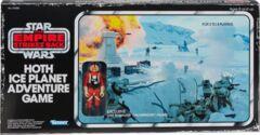 Star Wars The Empire Strikes Back Hoth Ice Planet Retro Game w/ Luke Skywalker (Snowspeeder) action figure