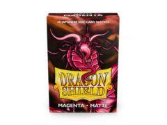 Dragonshield Sleeve Small Size Matte: Magenta