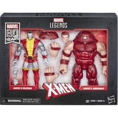 Marvel Legends: Colossus vs Juggernaut