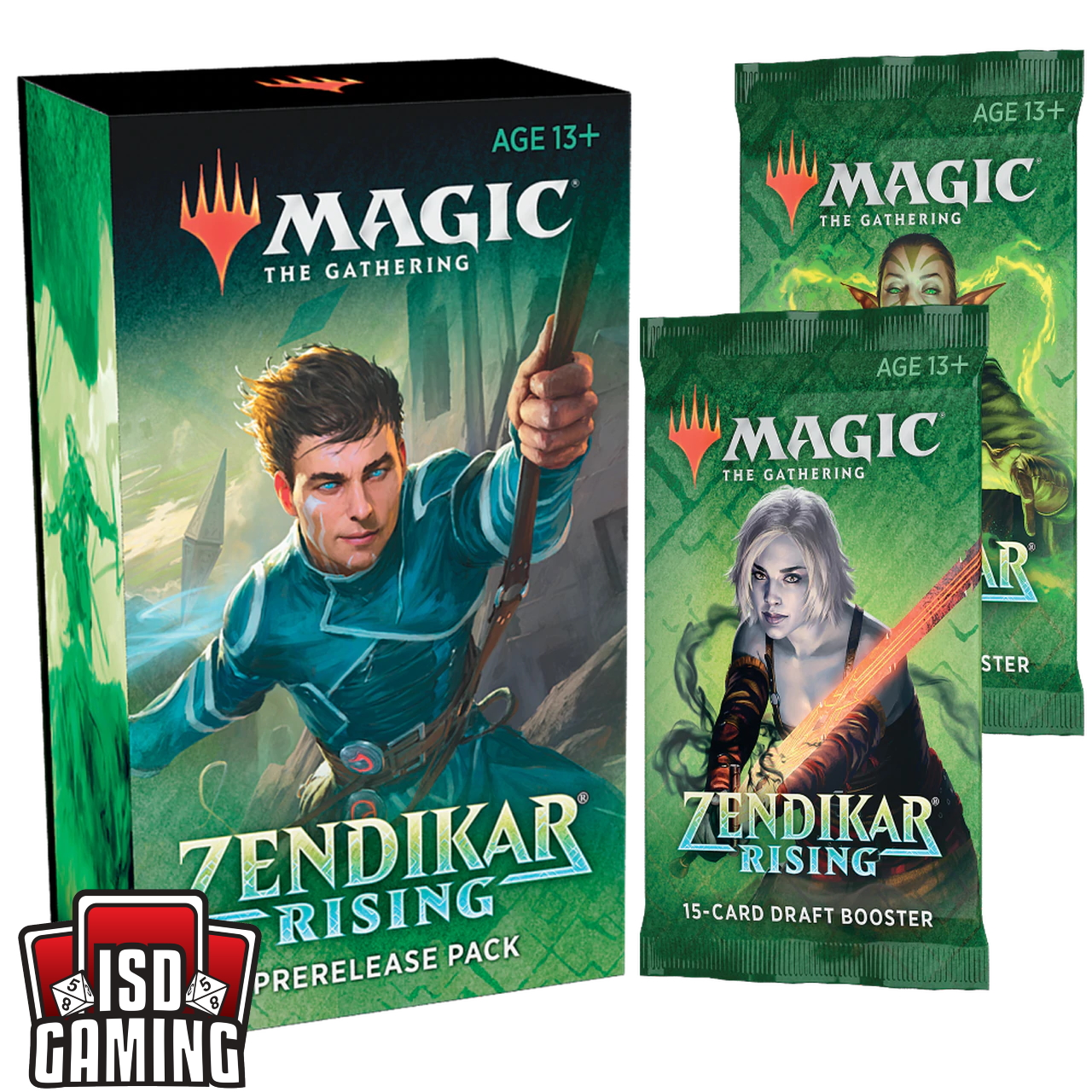 Zendikar Rising Prerelease Bundle (Pack + 2 Boosters)