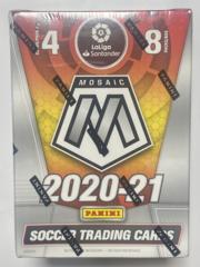 PANINI CSC: Soccer Mosaic 2020-21 - 8 Booster Packs (4 cards per pack)