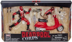 Marvel Legends Deadpool Corps Figure with Scooter