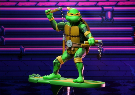 "TMNT: Turtles in Time – 7"" Scale Action Figures – Series 2: Michelangelo"