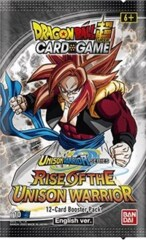 Dragon Ball Super Rise of the Unison Warrior Booster Pack