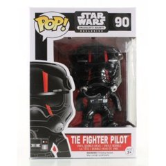 #90 Tie Fighter Pilot w/Red Stripes  (Smuggles's Bounty Exclusive)