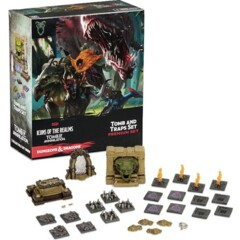 D&D Icons of the Realms: Tomb of Annihilation(Tomb and Traps Set) Premium Set