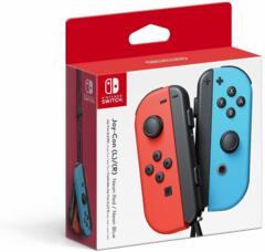 Nintendo Switch Joy-Con - Neon Red/Neon Blue