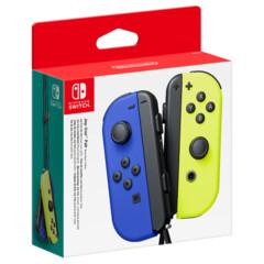 Nintendo Switch Joy-Con - Blue/Neon Yellow