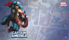Marvel Champions The Card Game: Captain America Playmat