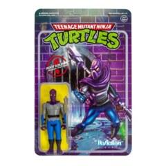 Super 7 ReAction: Teenage Mutant Ninja Turtles - Foot Soldier