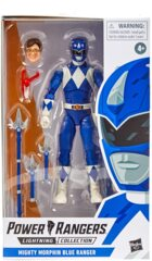 Power Rangers Lightning Collection Mighty Morphin Blue Ranger