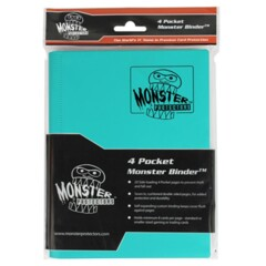 Monster 4 Pocket Teal