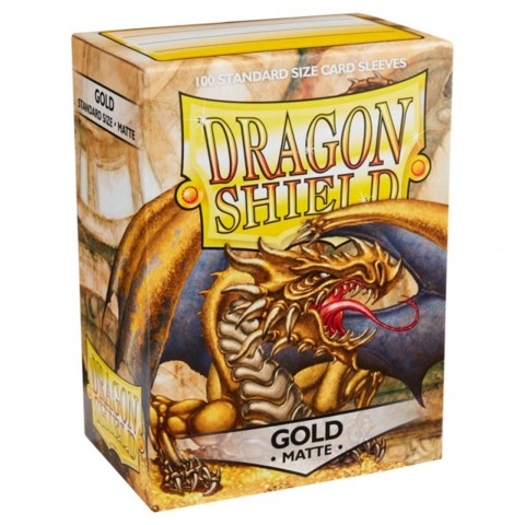 Dragon Shield 100 Standard: Gold