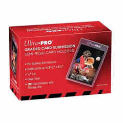 Ultra Pro: Semi-Rigid Card Holders (Graded Card Submission) - 200ct