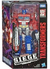 Transformers Generations War for Cybertron Siege Voyager: Optimus Prime