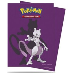 Pokemon Mewtwo Card Sleevs - 65ct