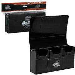 Monster Triple Deck Box: Black