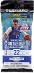 PANINI CSC: Contenders Basketball 2021 Booster Pack (22 cards per pack)