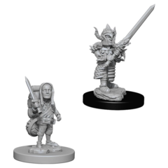 D&D Nolzur's Marvelous Miniatures: Halfling Fighter