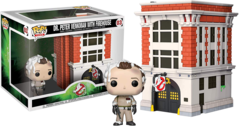 Ghostbusters Dr. Peter Venkman with Firehous #03