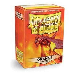 Dragon Shield Matte: Orange