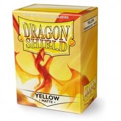 Dragon Shield Matte: Yellow