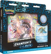 Pokemon TCG - Champion's Path Pin Collection - Hulbury Gym
