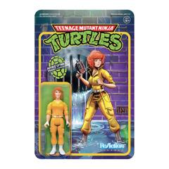Super 7 ReAction: Teenage Mutant Ninja Turtles - April O'Neil