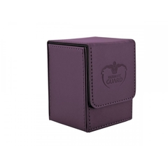 Ultimate Guard 100+ Flip Deck Case Leatherette: Purple