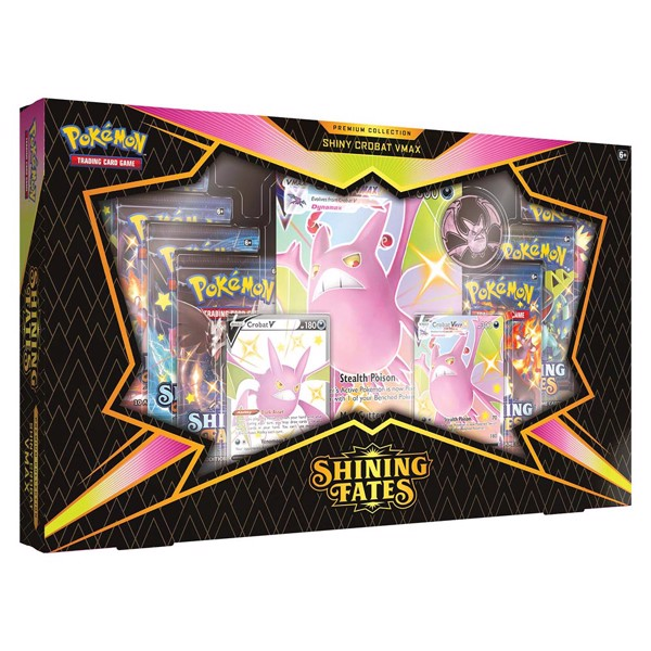 Pokemon TCG Shining Fates Premium Collection - Shiny Crobat
