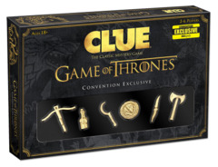 Clue Game of Thrones Convention Exclusive Expansion