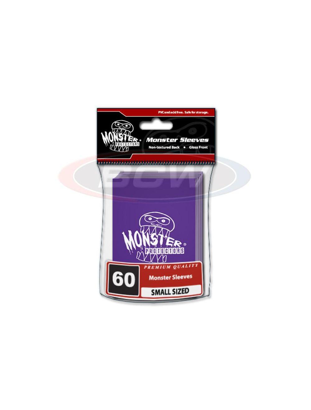 Monster Logo Sleeves: Purple