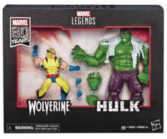 Marvel Legends: Wolverine vs Hulk