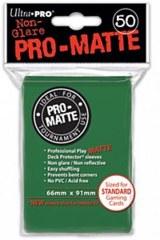 Ultra Pro PRO-Matte Standard Sleeves - Green (50ct)