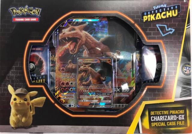Detective Pikachu Charizard Gx Special Case File Pokemon Sealed
