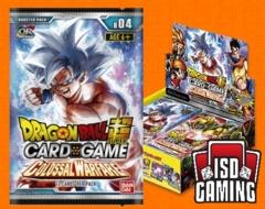 Dragon Ball Super - Series 4 Booster Box: Colossal Warfare