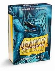 Dragonshield Sleeve Small Size Matte: Petrol