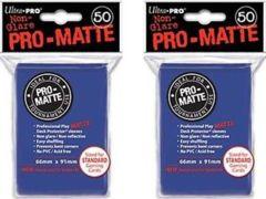 Ultra Pro PRO-Matte Standard Sleeves - Blue (50ct)