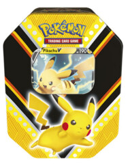 Pokemon TCG V Power Tin - Pikachu V
