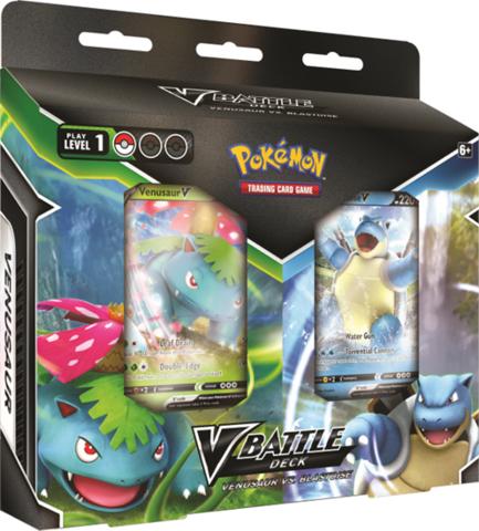 Pokemon TCG V Battle Deck Venusaur Vs. Blastoise