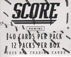 PANINI CSC: NFL SCORE 2021 Fatpack - 12 Pack Booster Box (40 cards per pack)