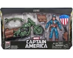 Marvel Legends: Captain America w/vehicle