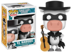 #167 EL Kabong (Quick Draw McGraw)